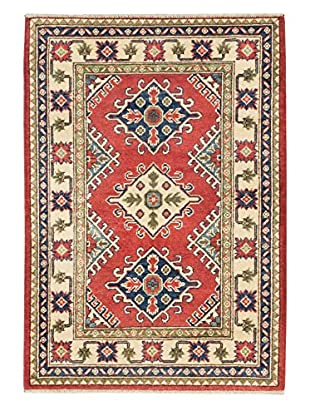 eCarpet Gallery One-of-a-Kind Hand-Knotted Gazni Rug, Red, 2' 11