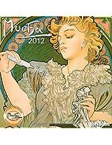 2012 Mucha Grid Calendar
