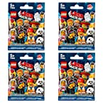 The LEGO Movie 71004 Minifigures Series 12 - 4 Pack
