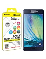 Amzer Kristal Tempered Glass HD Screen Protector for Samsung Galaxy A5 SM-A500F - Retail Packaging - HD Clear