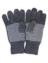 Graceway Unisex Gloves (4GL9, Grey, Free Size)