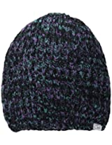 Coal Women's The Coco Plush Space-Dyed Slub Beanie, Purple, One Size