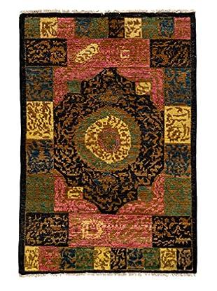 Darya Rugs Kaitag Oriental Rug, Black, 4' x 6'