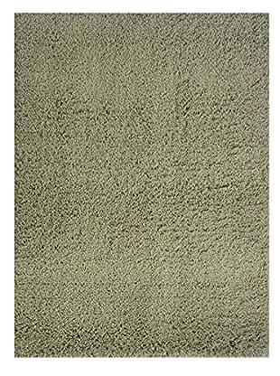 Momeni Comfort Shag Rug, Olive Green, 5' x 7'
