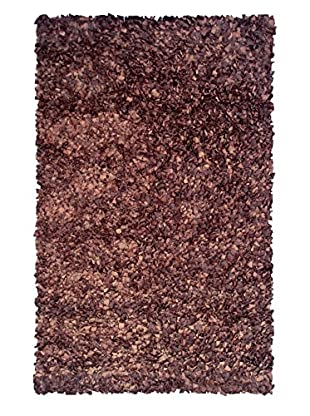 The Rug Market Shaggy Rug, Chocolate, 5' 3