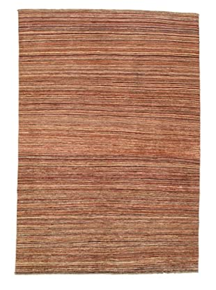 Rug Republic One Of A Kind Hand Knotted Stripped Gabbeh Rug, Multi, 6' 3