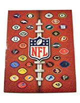 NFL Folder Officially Licensed by the National Football League (Football Shaped Team Logos on Footba