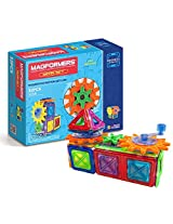Magformers Magnets in Motion Gear Set, Multi Color (32 Pieces)