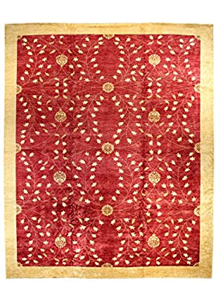 Bashian Rugs Hand Knotted One-of-a-Kind Paki Rug, Red, 12' x 14' 8