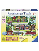 Ravensburger City Streets Floor Jigsaw Puzzle (24-Piece)
