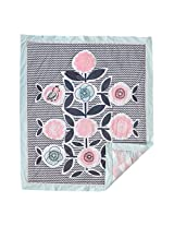 Lolli Living Sparrow Baby Quilt - Colorful, Modern Quilted Comforter In 100% Cotton, Use As Bedding Or Decorative Wall Hanging, A Beautiful Addition To Nursery.