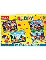 Funskool Noddy 4-in-1 30 Piece Puzzle 2007