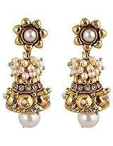 Agarwal Bentex Gold Plated Designer Jhumki For Women