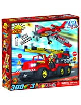 COBI Action Town Fire Air Patrol, 300 Piece Set