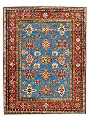 Kalaty One-of-a-Kind Kazak Rug, Blue, 5' x 7' 5