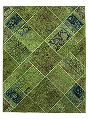 Bashian Rugs One-of-a-Kind Hand Knotted Paki Patchwork Rug, Multi, 4' 10