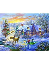 Christmas Home A 300 Piece Jigsaw Puzzle By Suns Out