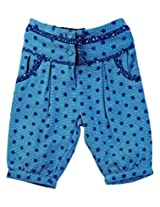 Infant Girls Trouser With Star Print, Blue (0-6 Months)