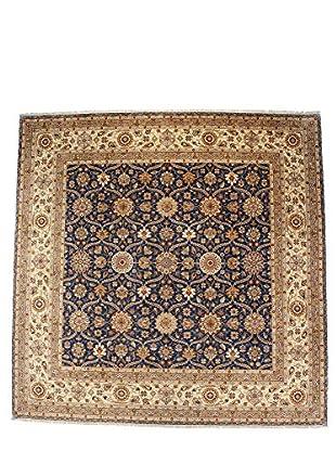 F.J. Kashanian One-of-a-Kind Hand-Knotted Mila Rug, Denim/Ivory, 10' x 10'