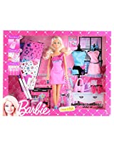Barbie Design and Style Doll, Multi Color
