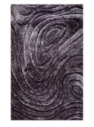 Manhattan Design District Wool Blend Luxury Shag (Grey)