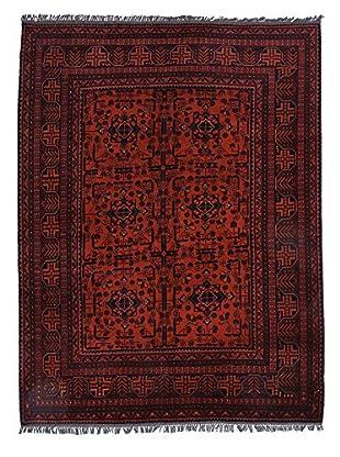 Darya Rugs Traditional Oriental Rug, Red, 5' 10
