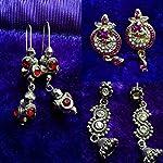 Combo of 3 metal earrings