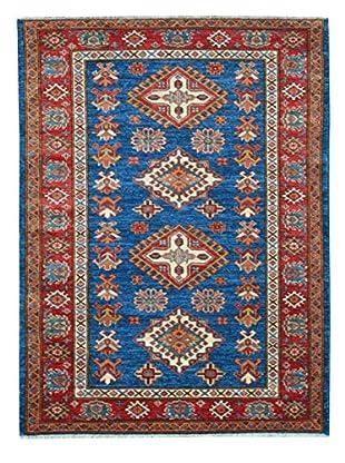 Kalaty One-of-a-Kind Kazak Rug, Blue, 3' 5