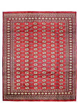 Bashian Rugs One-of-a-Kind Hand Knotted Paki Bukara Rug, Red, 8' 1