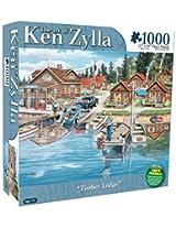Karmin International Ken Zylla Timber Lodge Puzzle (1000-Piece)