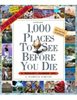 1,000 Places to See Before You Die Calendar: A Traveler's Calendar (Picture-A-Day Wall Calendars)