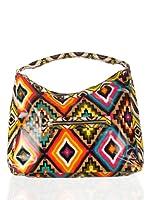 Aïta Bolso Hobo Estampado Ikat Multicolor