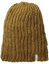 Coal Men's Thrift Knit Unisex Beanie, Light Brown, One Size