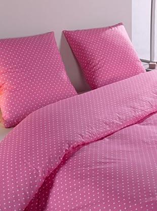 Mistral Home Bettwäsche-Set Polka in 3 Größen (Pink)