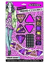 Fashion Angels Project Runway Tapeffiti Trend-cessories Urban Safari Bracelet Kit