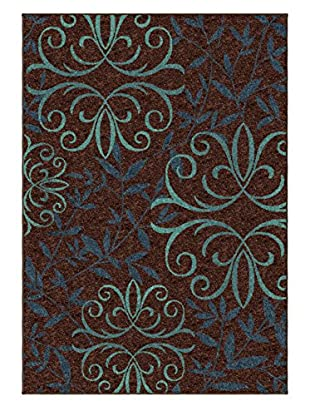 Orian Rugs Voyager Rug, Brown, 5' x 8'