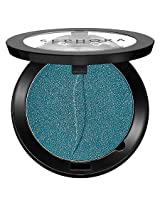Colorful Eyeshadow Mono (Curacao Punch) Bright Aqua Turquoise Blue Glitter Shimmer Travel Size 0.028oz