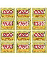 AVM Compounded Asafoetida Cake, 25 grams (Pack of 12)