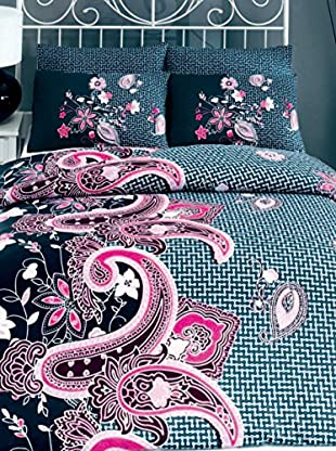 Colors Couture Bettdecke und Kissenbezug Hayat