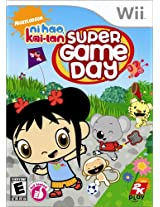 Ni Hao Kai Lan Super Game Day (Nintendo Wii)