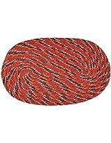 """Agra Dari Woolen Doorm Mat - 16"""" x 24"""" , Orange"""