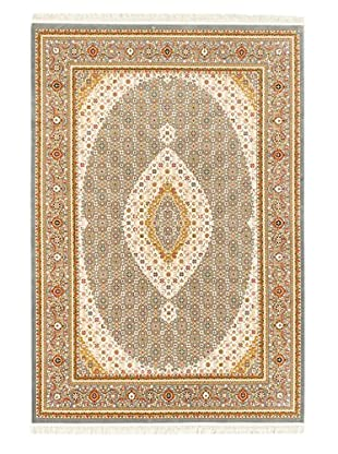 Hand Loomed King David Rug, Gray, 5' 3