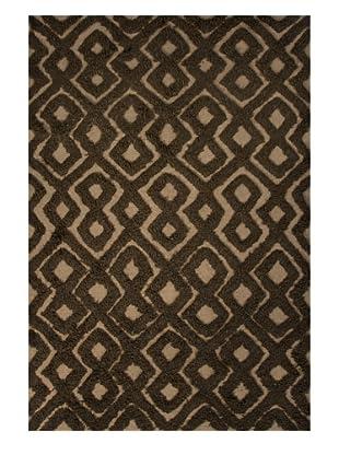 Jaipur Rugs Hand-Woven Wool Rug, Beige/Brown, 5' x 8'