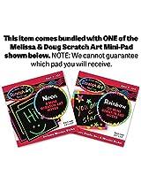 Wooden Animal Nesting Blocks 8-Piece Play Set + FREE Melissa & Doug Scratch Art Mini-Pad Bundle