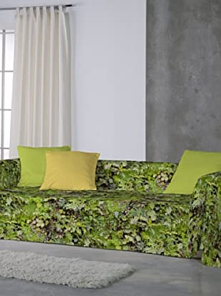 Euromoda Lenceria Hogar Foulard Sofá Botanic (Verde)