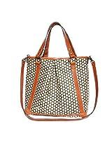 Mia Bossi Lyndsey Diaper Bag, Tangerine