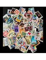 NEW ZEALAND ~ STAMPS LARGE & SMALL ~ 100 DIFFERENT