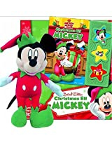 Disney Mickey Mouse: Limited Edition Christmas Elf Mickey Book And Plush Set