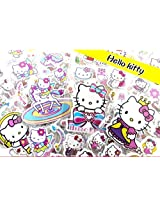 19 Sheets Love Hello Kitty 3 D Puffy Stickers