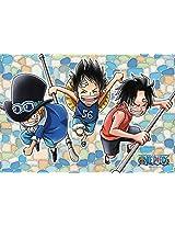 126 Piece Jigsaw Puzzle (10x14.7cm) One Piece Bonds Of Friendship Frost Art Jigsaw